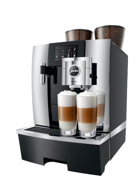 JURA GIGA X8c G2 2 latte mac.