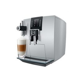 JURA J6 Brilliant Silver Latte Mac.