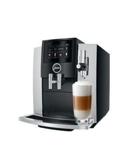 JURA S8 Moonlight Silver Latte mac