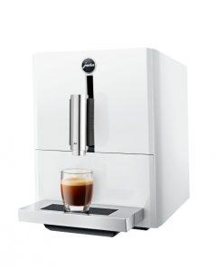 JURA A1 Piaono White fra siden m. espresso